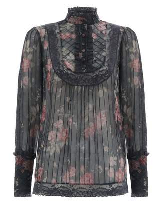 Zimmermann Unbridled Tucked Blouse
