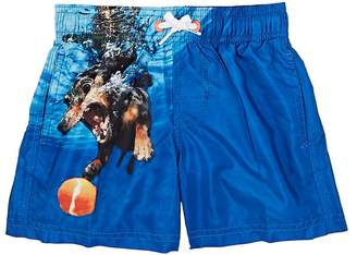 Sundek Kids' Dog-Print Swim Trunks