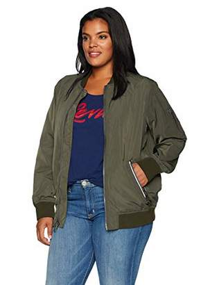 Levi's Ladies Outerwear Women's Plus Size Bomber Jacket