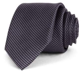 Ted Baker Textured Solid Silk Skinny Tie