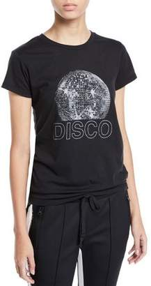 Pam & Gela Disco Ball Graphic Short-Sleeve Tee