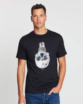 Paul Smith Short Sleeve Regular Fit T-Shirt Skull