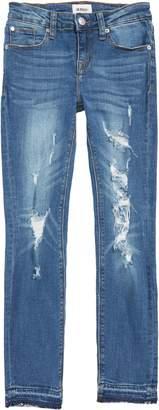 Hudson Deja Ripped Crop Jeans