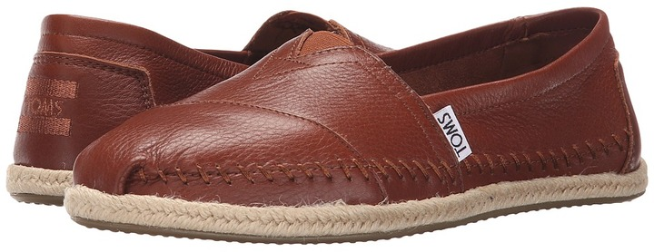 TOMS - Leather Classics Women's Slip on Shoes
