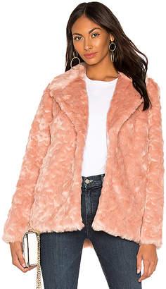 Show Me Your Mumu Park Ave Faux Fur Jacket
