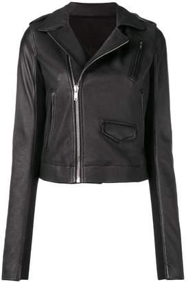 Rick Owens off-centre zipped jacket