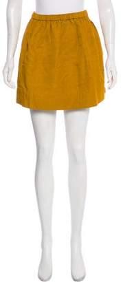 Elizabeth and James Gathered Mini Skirt