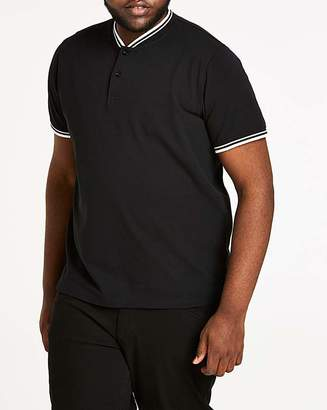 Jacamo Baseball Collar Black Polo L