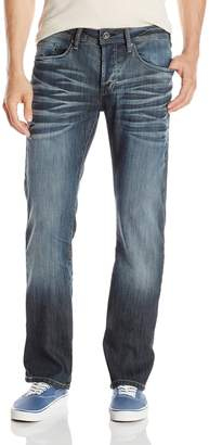 Buffalo David Bitton Men's King Slim Fit Bootcut Jean in Stretch Denim