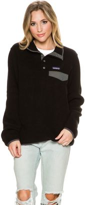 Patagonia Lightweight Synchilla Pullover $99 thestylecure.com