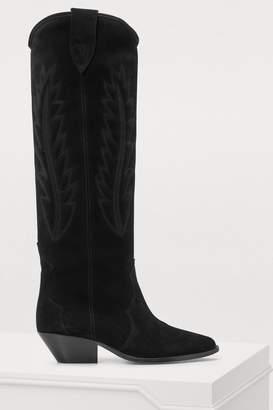 Isabel Marant Denzy cowboy boots