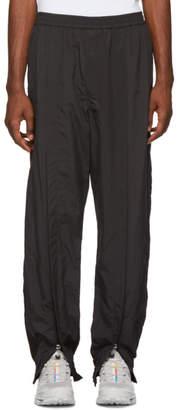Name Black Ankle Zip Track Pants