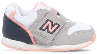 New Balance 996 Faux Leather & Neoprene Sneakers