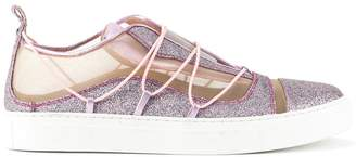 DSQUARED2 mesh panelled sneakers