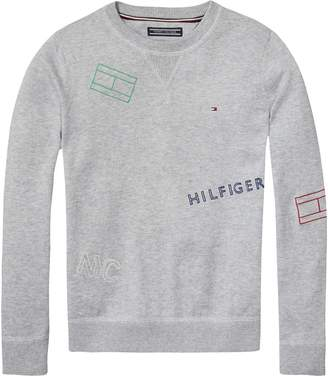 Tommy Hilfiger TH Kids Flag Sweater