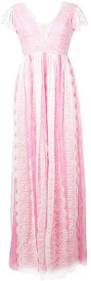 Pinko lace-trimmed gown