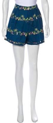 Rachel Antonoff High-Rise Mini Shorts w/ Tags