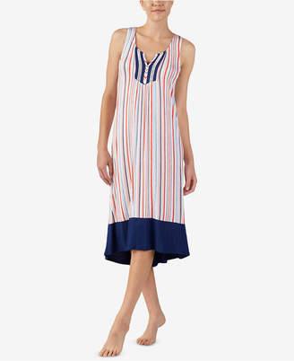 Ellen Tracy Printed Ballet Nightgown
