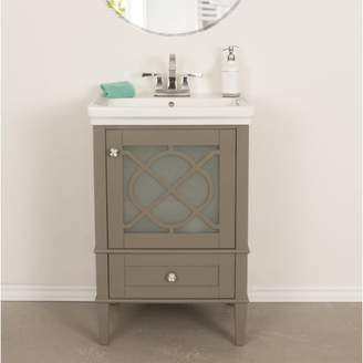 "Willa Arlo Interiors Wheatley 24"" Single Bathroom Vanity Set Base"
