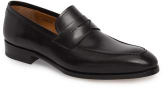 Magnanni Rolly Apron Toe Penny Loafer