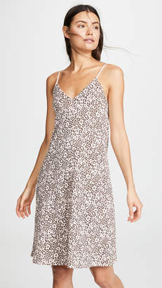 ATM Anthony Thomas Melillo Lunar Leopard Slip Dress