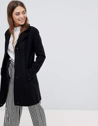Only Wool Blend Tailored Coat