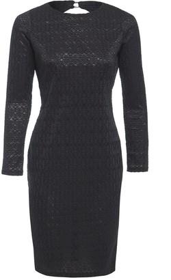 Sarvin Morena Long Sleeve Backless Lace Dress