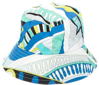 Emilio Pucci Emilio Pucci Abstract Print Bucket Hat