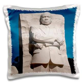 Lee 3dRose Martin Luther King Jr Memorial, Washington DC, USA - US09 LFO0144 Foster - Pillow Case, 16 by 16-inch