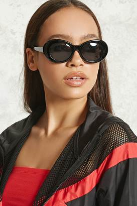 FOREVER 21+ Round Oval Sunglasses $7.90 thestylecure.com