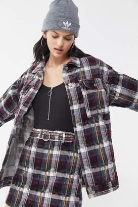 BDG Karina Plaid Corduroy Shirt Jacket