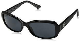 GUESS Women's Gu7410 Rectangular Sunglasses