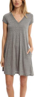 Current/Elliott V Neck Trapeze Dress