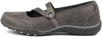 Skechers 23209 breathe-easy-c Charcoal Sneakers Womens Shoes Casual Casual Sneakers
