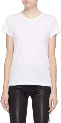 Rag & Bone 'The Tee' Pima cotton slub jersey T-shirt