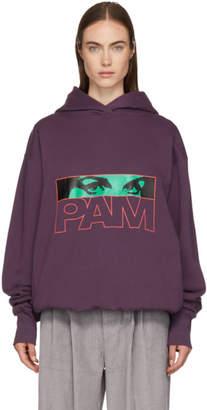 Perks And Mini Purple Logo Aiden Hoodie