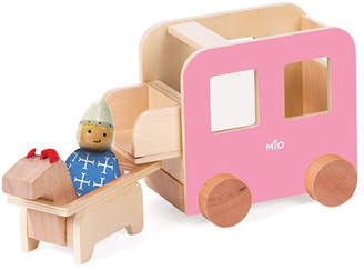 MIO Manhattan Toy Wooden Carriage Horse 1 Person Imaginative Play Kit
