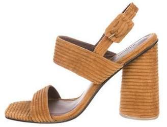 Rachel Comey Corduroy Slingback Sandals