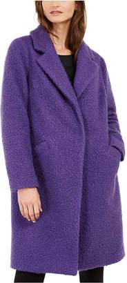 Alfani Textured Boucle Coat