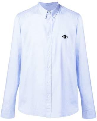 Kenzo Eye-embroidered button-down shirt