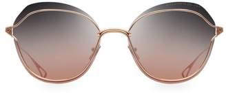 Dita Eyewear Nightbird Two 58MM Round Sunglasses