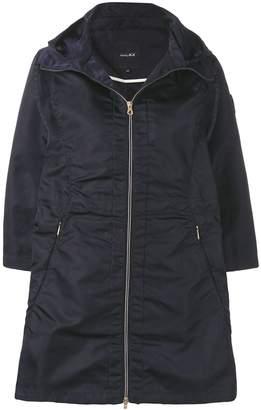 Duvetica full-zipped parka coat