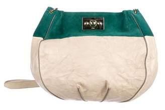 Chloé Turn-Lock Leather Hobo
