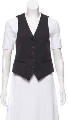 Theory Sleeveless Button-Up Vest