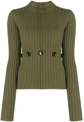 Joseph button embellished jumper