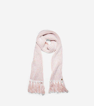 Cole Haan Two Color Thermal Muffler Scarf