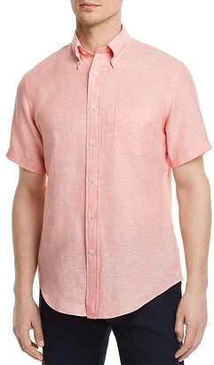 Brooks Brothers Irish Linen Regular Fit Button-Down Shirt