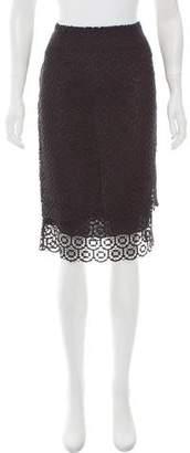 Jenni Kayne Lace Knee-Length Skirt