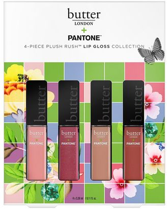 Butter LONDON & PANTONE Petite Plush Rush Lip Gloss Set