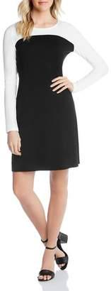 Karen Kane Color-Block Sheath Dress